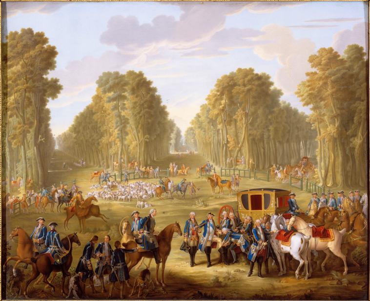 Les Chasses de la Reine et du Comte d´Artois   14528410