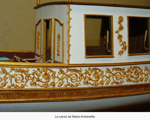 Le canot de promenade de Marie-Antoinette à Versailles Canot_15