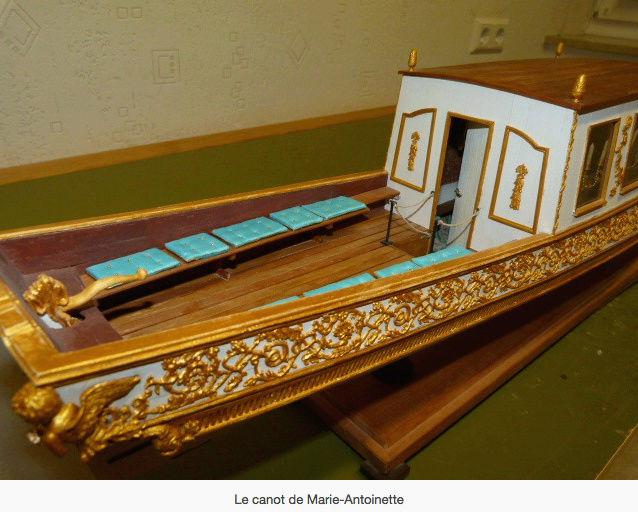 Le canot de promenade de Marie-Antoinette à Versailles Canot_16