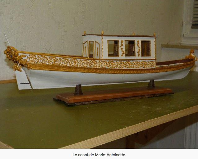 Le canot de promenade de Marie-Antoinette à Versailles Canot_17
