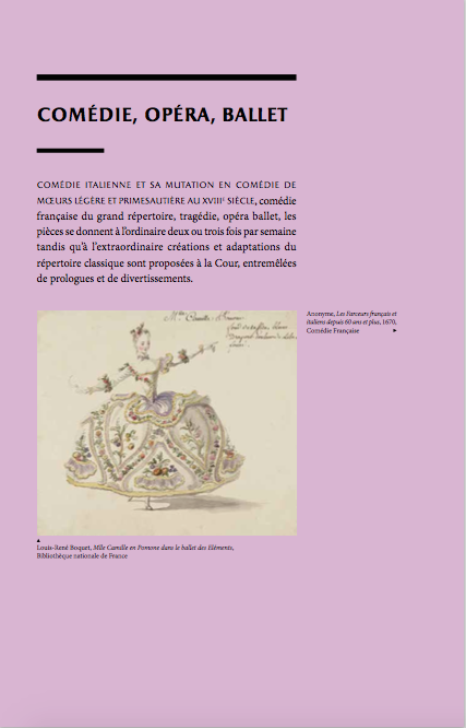 """Exposition à Versailles """"Fêtes et divertissements à la cour. Captur15"""