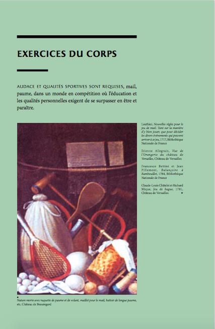 """Exposition à Versailles """"Fêtes et divertissements à la cour. Captur17"""