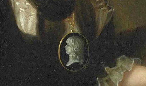 Portraits de Marie-Antoinette par la marquise de Bréhan Captur22