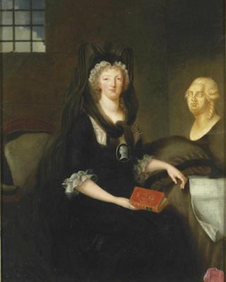 Portraits de Marie-Antoinette par la marquise de Bréhan Captur24