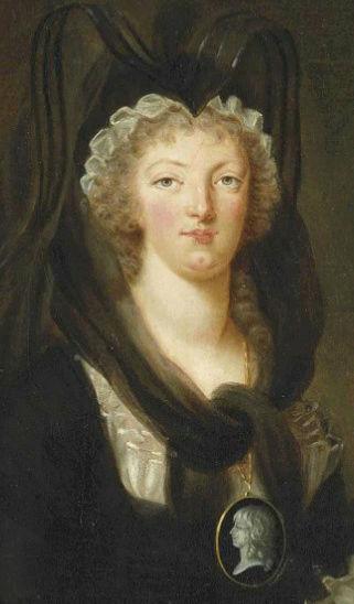 Portraits de Marie-Antoinette par la marquise de Bréhan Captur74