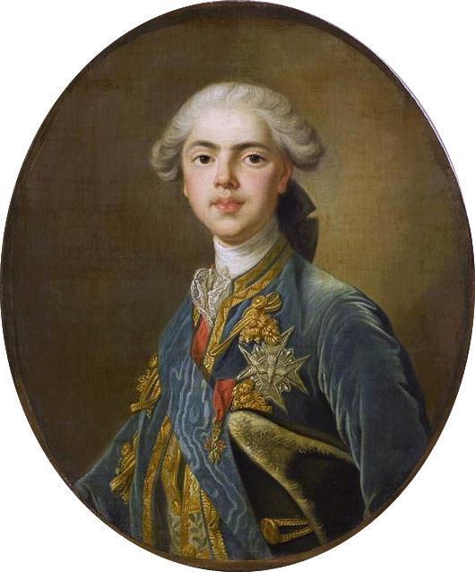Portraits du comte d'Artois ou du comte de Provence par Van Loo ? Comte_11