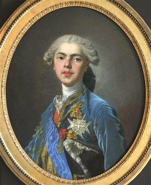 Portraits du comte d'Artois ou du comte de Provence par Van Loo ? Comte_13