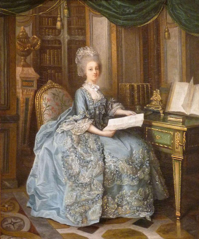 Lié-Louis Périn-Salbreux : Portrait de Marie-Antoinette ou de Madame Sophie ? Liei-l11