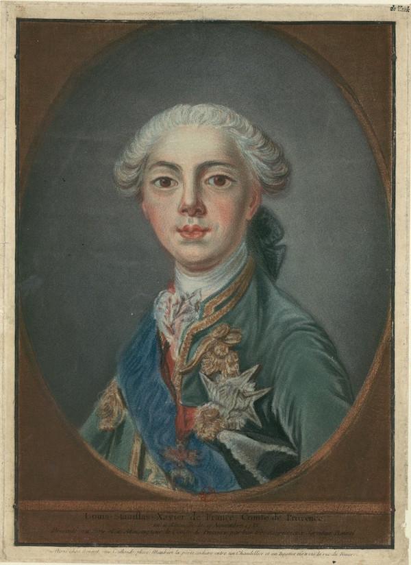 Portraits du comte d'Artois ou du comte de Provence par Van Loo ? Louis-11