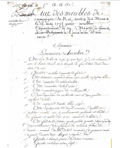 Le couronnement et le sacre de Louis XVI Louis_11
