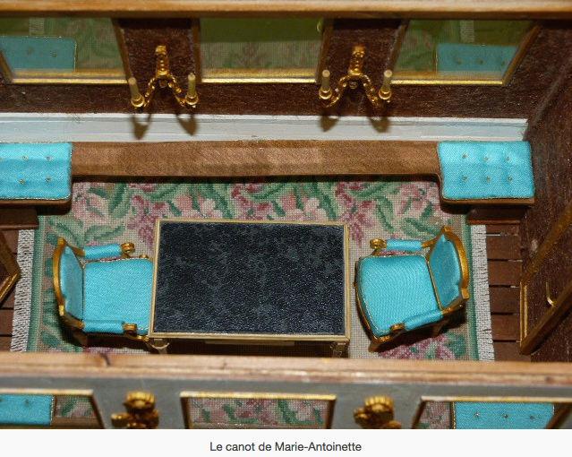 Le canot de promenade de Marie-Antoinette à Versailles Marie_39