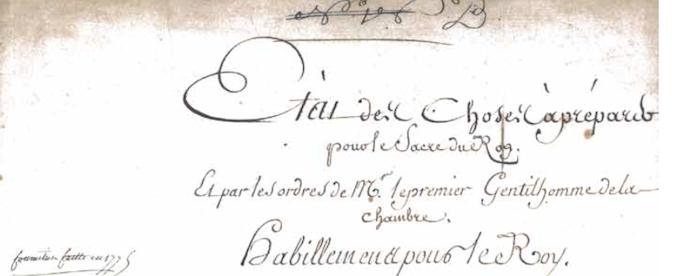 Le couronnement et le sacre de Louis XVI Reims10