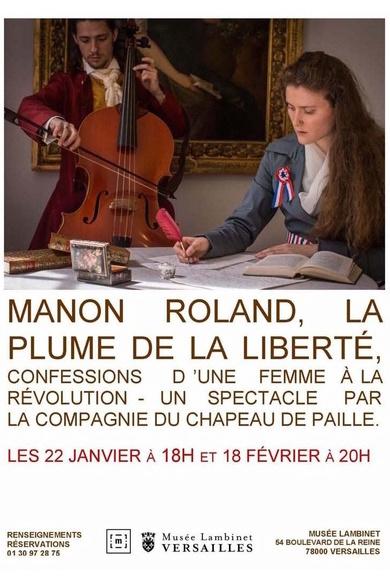 Manon Roland, la plume de la liberté. Représentations au Musée Lambinet Thyytr10