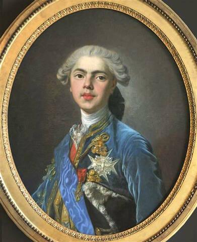 Portraits du comte d'Artois ou du comte de Provence par Van Loo ?