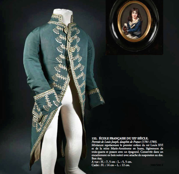 Joseph - Louis-Joseph de France, premier Dauphin - Page 4 Veste_10