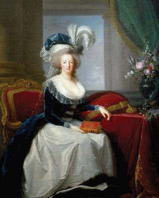 Portraits de Marie-Antoinette par la marquise de Bréhan Vigee_12