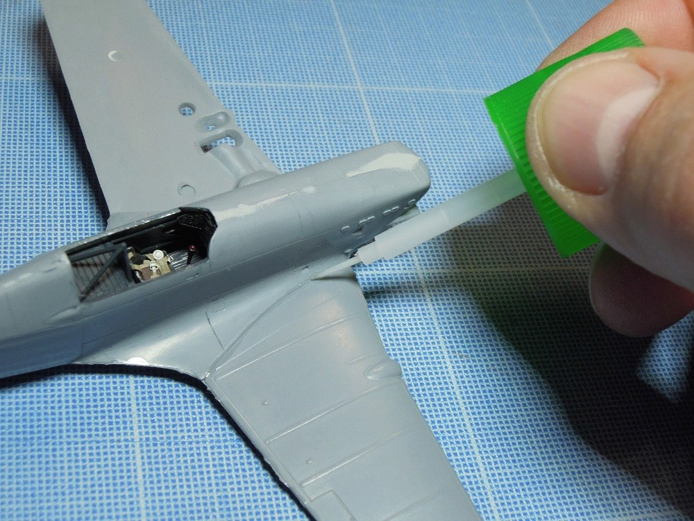 Morane-Saulnier MS-406 C.1 - AZUR 1/72 (Terminé) B410