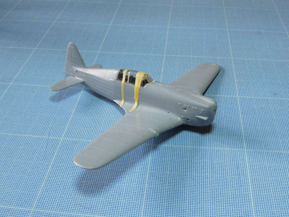 Morane-Saulnier MS-406 C.1 - AZUR 1/72 (Terminé) C410