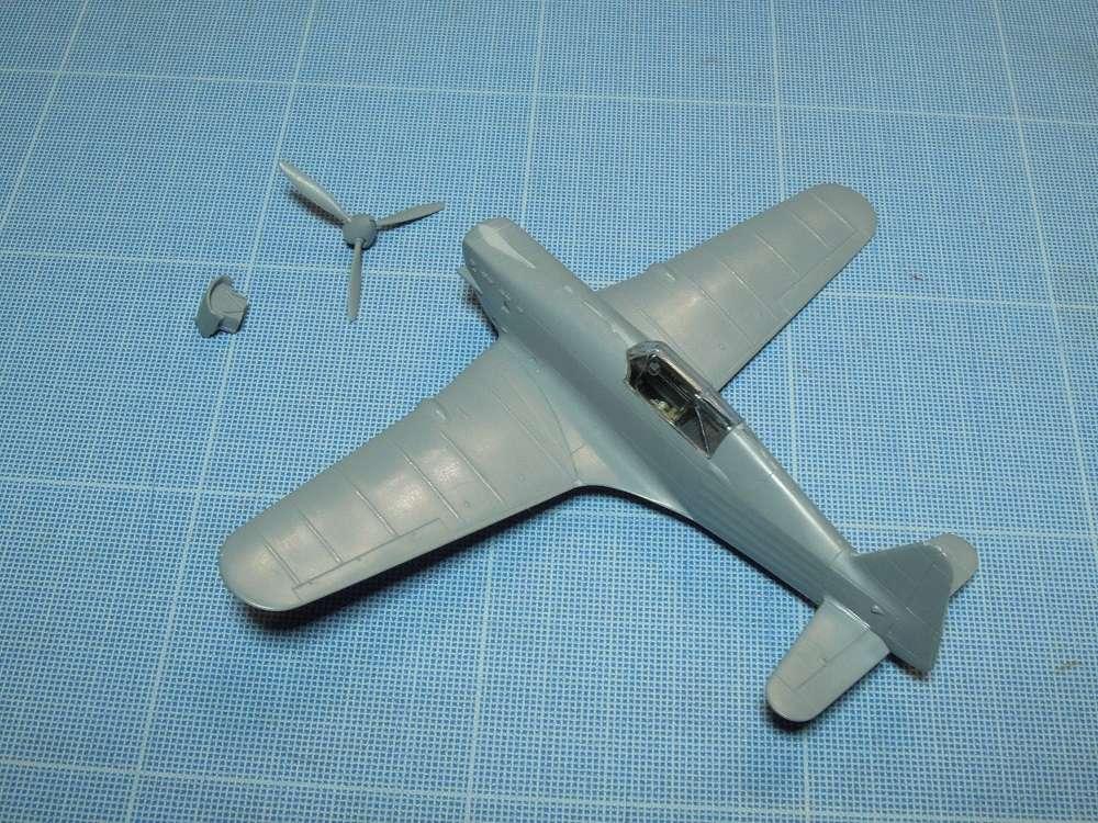 Morane-Saulnier MS-406 C.1 - AZUR 1/72 (Terminé) Dscn0410