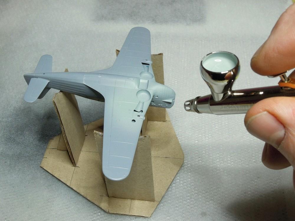 Morane-Saulnier MS-406 C.1 - AZUR 1/72 (Terminé) - Page 2 E411