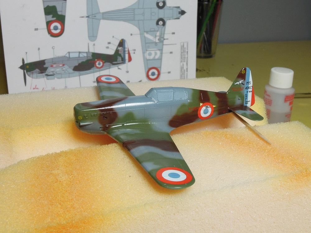 Morane-Saulnier MS-406 C.1 - AZUR 1/72 (Terminé) - Page 2 G611