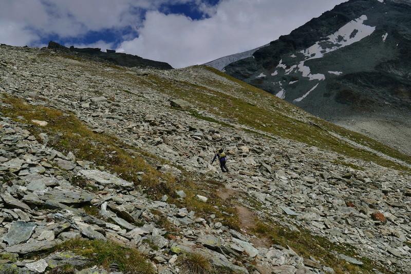Balade en Valais : Cabane de Tracuit depuis Zinal 0610