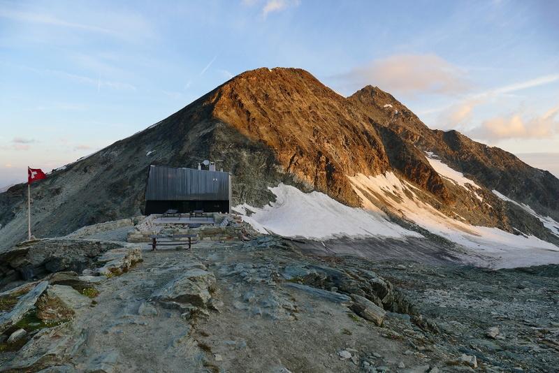 Balade en Valais : Cabane de Tracuit depuis Zinal 1110