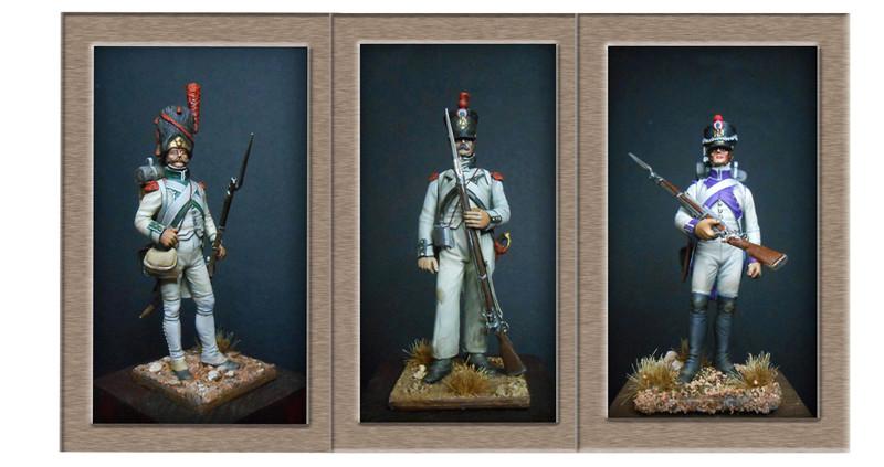 Grenadier de la ligne 3ème Rgt 1806 MM54mm 0o11