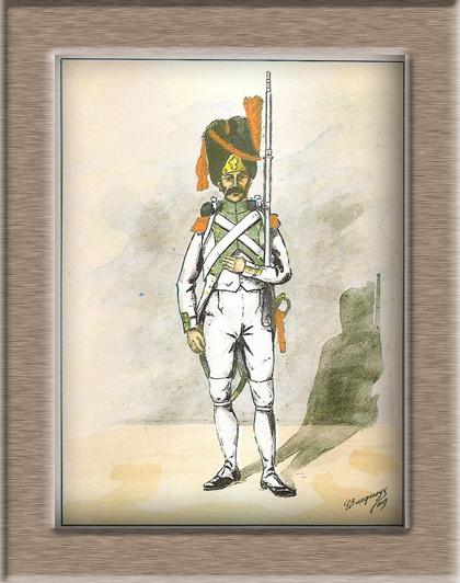 Grenadier de la ligne 3ème Rgt 1806 MM54mm 6ab1d111