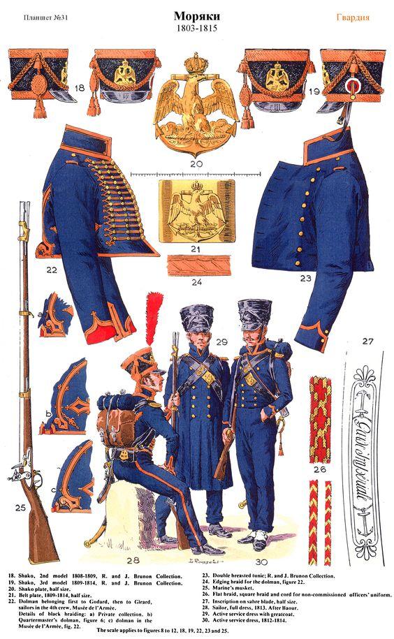 Marin de la Garde en tenue de campagne (MM 54mm) 8cea5a11