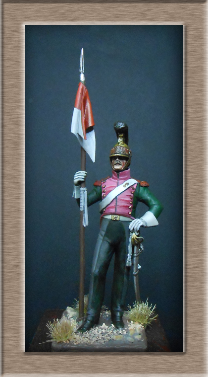 Vitrine Alain 2  Chevau-léger Polonais de la Garde 1810 MM 54 mm ) - Page 2 Dscn5510