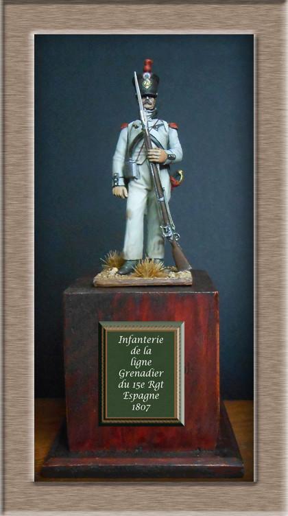 Grenadier du 15e régiment infanterie de la ligne Espagne 1807 Dscn6616