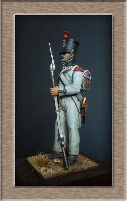 Grenadier du 15e régiment infanterie de la ligne Espagne 1807 Dscn6626
