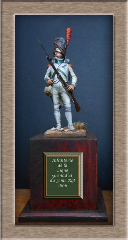 Grenadier de la ligne 3ème Rgt 1806 MM54mm Dscn6716