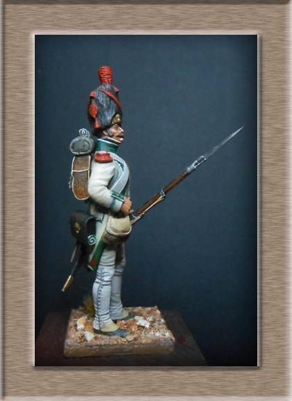 Grenadier de la ligne 3ème Rgt 1806 MM54mm Dscn6719