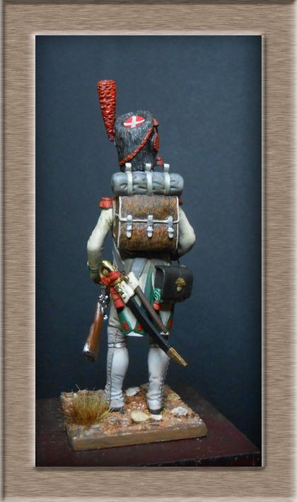 Grenadier de la ligne 3ème Rgt 1806 MM54mm Dscn6721