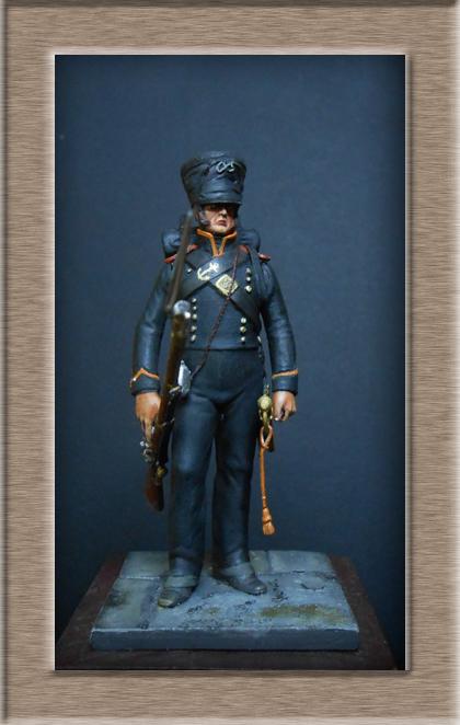 Vitrine Alain 2 Voltigeur de ligne 1812 MM54mm Dscn6810