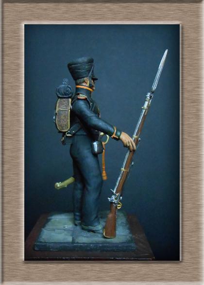 Vitrine Alain 2 Voltigeur de ligne 1812 MM54mm Dscn6825
