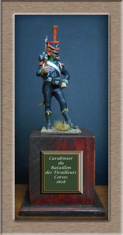 Carabinier du Bataillon des Tirailleurs Corses 1808 MM54mm  Dscn6916