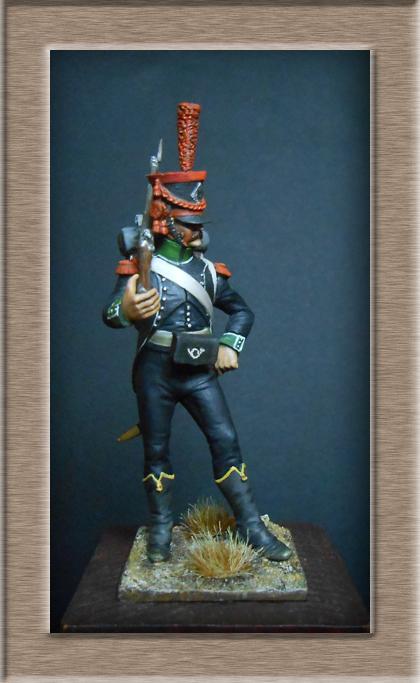 Carabinier du Bataillon des Tirailleurs Corses 1808 MM54mm  Dscn6917