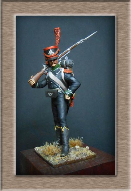 Carabinier du Bataillon des Tirailleurs Corses 1808 MM54mm  Dscn6918