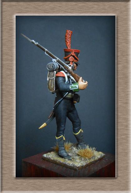 Carabinier du Bataillon des Tirailleurs Corses 1808 MM54mm  Dscn6919