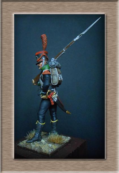 Carabinier du Bataillon des Tirailleurs Corses 1808 MM54mm  Dscn6920