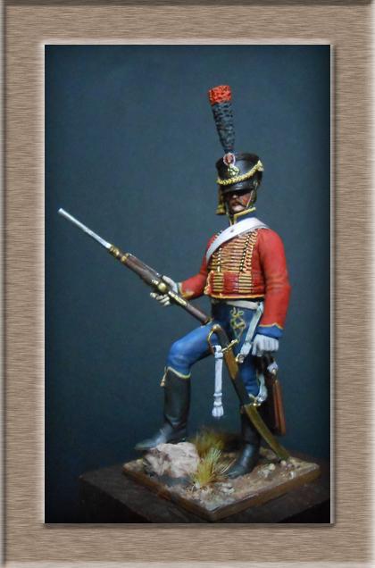 Vitrine Alain 2 Voltigeur de ligne 1812 MM54mm Dscn6925
