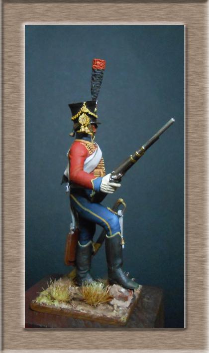 Vitrine Alain 2 Voltigeur de ligne 1812 MM54mm Dscn6926
