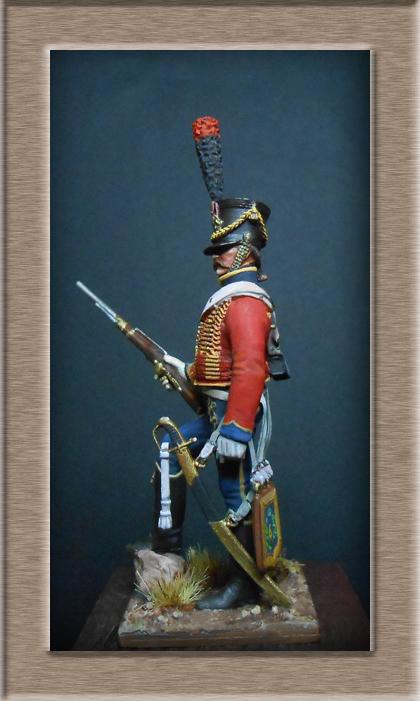 Vitrine Alain 2 Voltigeur de ligne 1812 MM54mm Dscn6927