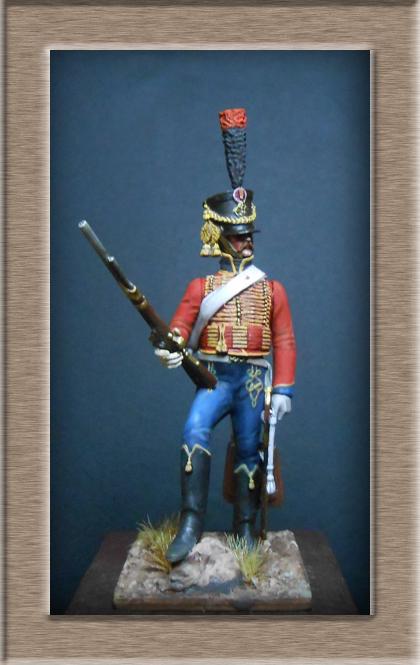 Hussard du 6ème Rgt 1809 MM54mm Dscn6930