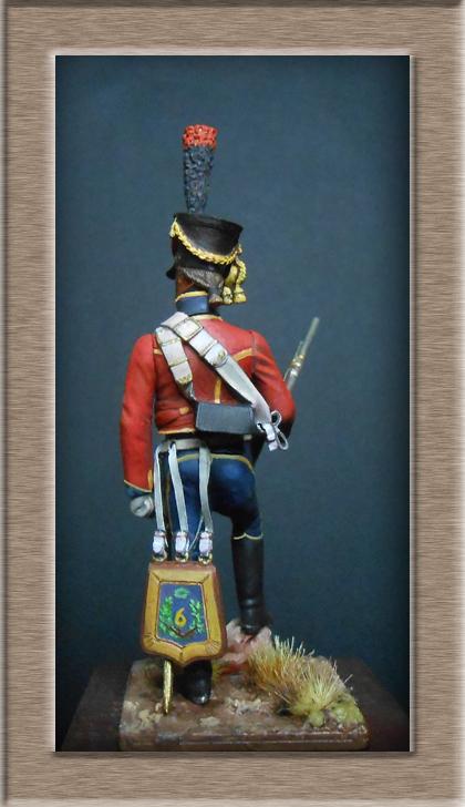 Hussard du 6ème Rgt 1809 MM54mm Dscn6934