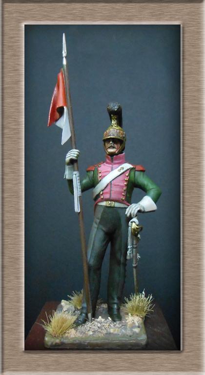 Vitrine Alain 2  Chevau-léger Polonais de la Garde 1810 MM 54 mm ) - Page 2 Dscn7010
