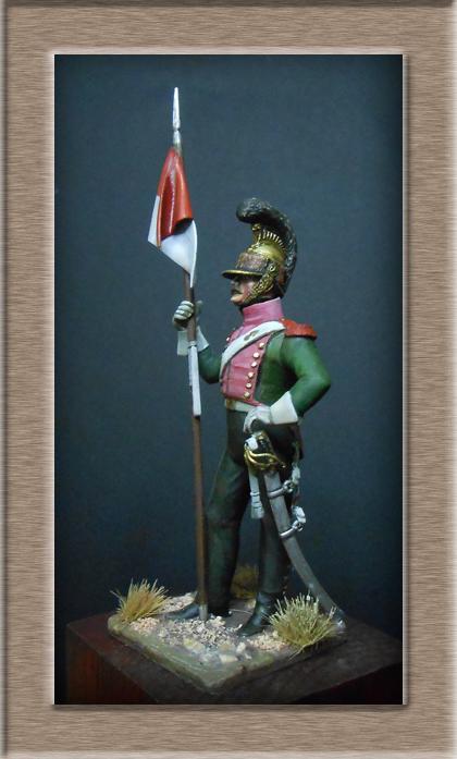 Vitrine Alain 2  Chevau-léger Polonais de la Garde 1810 MM 54 mm ) - Page 2 Dscn7011